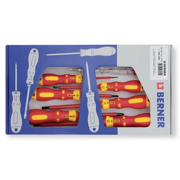 Berner Set izvijača za električare VDE 240306