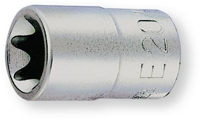 """BERNER 105800 Nasadni ključ E18 na 1/2"""""""